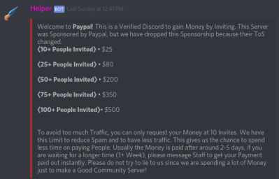 Paypal Rewards: Scam or Legit? (Discord server) – NetSmackers